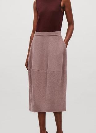 Шерстяная юбка cos