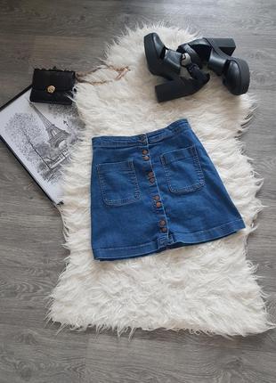 🔥🔥sale🔥🔥стильная джинсовая юбка  💙 casual select 💙