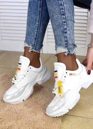 Белые натуральные кроссы