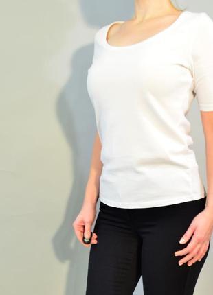 4190\40 белая футболка m&s xl