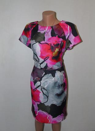 Красивое платье футляр 14 размера