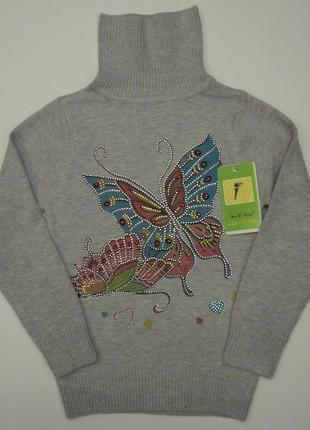 Детский свитер на девочку Lee di home (110 см - 150 см)
