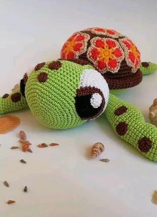 Вязаная черепаха