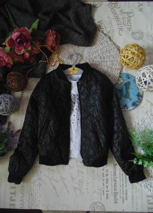 9-10лет.улётная куртка бомпер h&m.