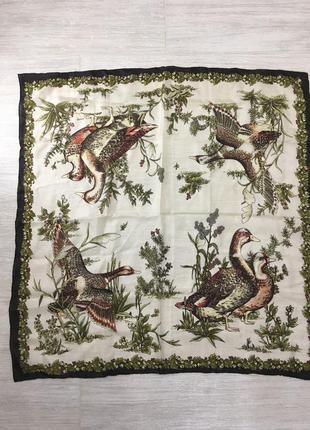 шелковый  платок 100% silk