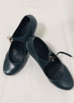 Кожаные туфли Respect