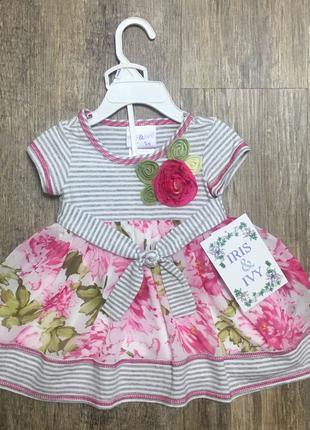Літнє плаття на дівчинку 12 міс