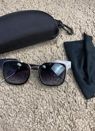 Солнцезащитные очки в стиле dior sunglasses sideral черные
