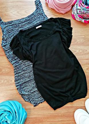 Женская легкая тонкая футболка - размер 42