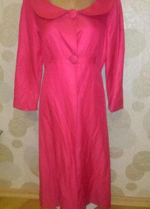 Шелковое платье кардиган  бренда  люкс  l.k. bennett