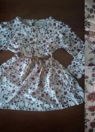 Платье на малявочек