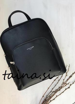 Рюкзак класический david jones cm5140t black городской черный