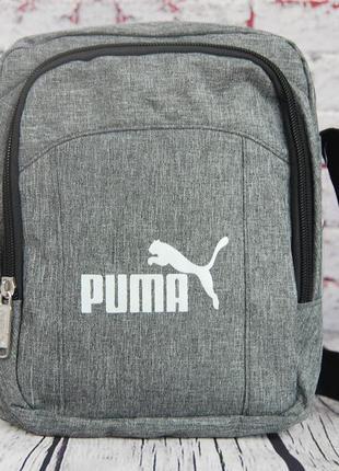 Спортивная сумка-барсетка через плечо  .тканевая сумка. кс134