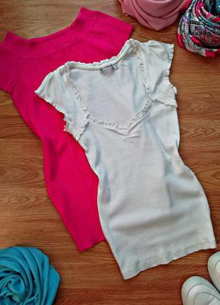 Женская легкая трикотажная футболка terranova - размер 42