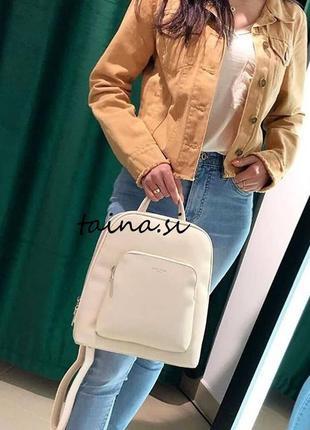 Рюкзак класический david jones cm5140t оригинал белый