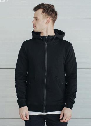 Толстовка staff black zip