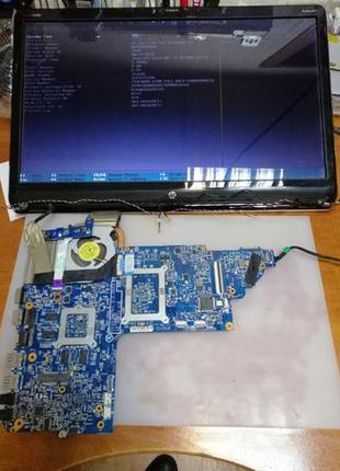 На запчасти ноутбук HP DV7-7xxx
