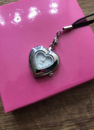 Новые часы в форме сердца подарок часики колье браслет подвеска
