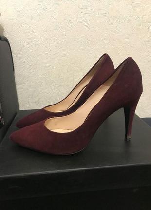 Туфли лодочки шпильки лабутены босоножки балетки замшевые замша з