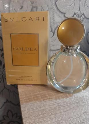 ☆оригинал☆90мл bvlgari goldea  парфюмированная вода