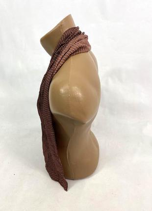 Шарф легкий шелковый, стильный, качественный, 100% silk