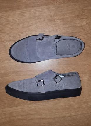 Интересные мужские туфли-монки green coast(испания)