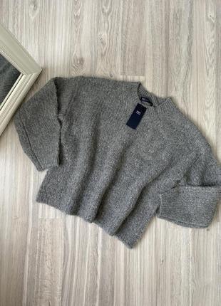 Мягкий оверсайз свитер