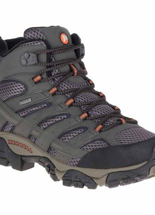Треккинговые мужские ботинки merrell moab 2 mid goretex