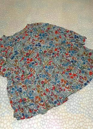 Цветочное платье next 1-2 года