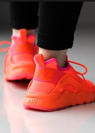 Новые яркие кроссовки nike air huarache run ultra breathe