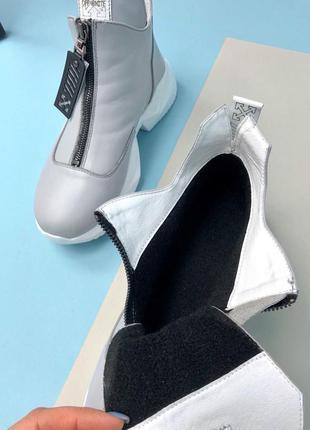 Женские демисезонные ботинки grey