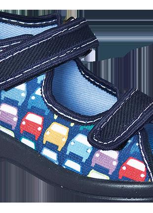 Текстильные тапочки для мальчиков zetpol