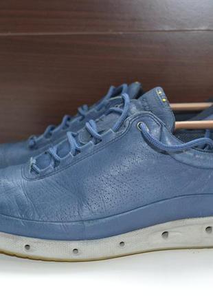 Ecco 43р кроссовки ботинки кожаные. оригинал