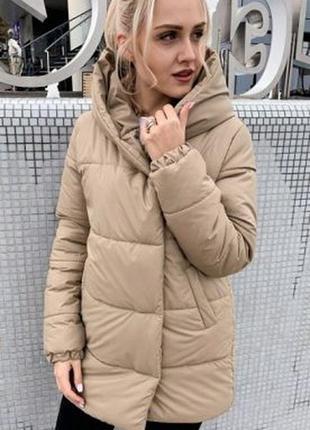 Новинка! Теплая зимняя куртка зефирка