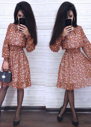Платье, женское платье, короткое платье, шифоновое платье