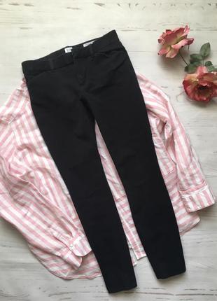 Чёрные джинсы skinny/джинсы (xs/s)