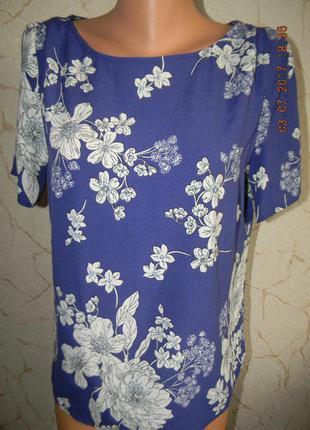 Вискозная летняя блуза f&f