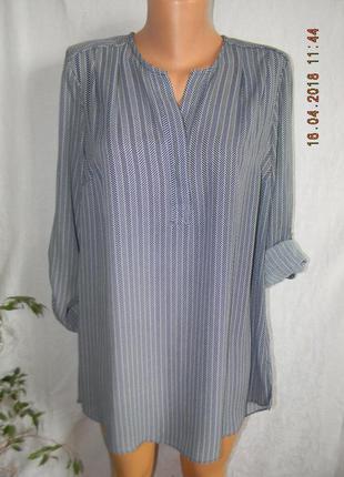 Красивая блуза рубашка с принтом