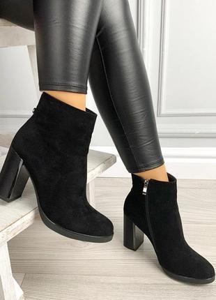 Новиночка черные ботиночки
