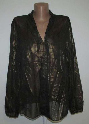 Блузка blacky dress, berlin, l-xl. как новая!