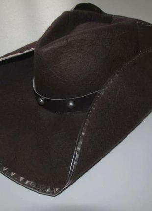 Шляпа ковбоя, маскарадная, max bersinger, 51-55