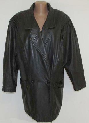 Куртка кожаная angelo, xl-xxl, как новая!