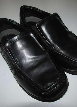 Туфли кожаные tu sainsbury's, 31р. 20 см. сост. отличное!