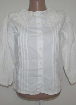 Блузка h&m childrens, детская, размер 134, 100% хлопок