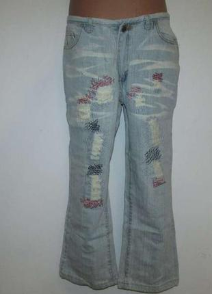 Капри джинсы miss sixty italy, в поясе 37,5-41 см. как новые!