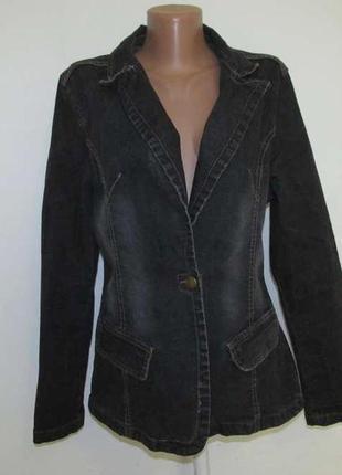 Куртка tramontana jeans, l, как новая!