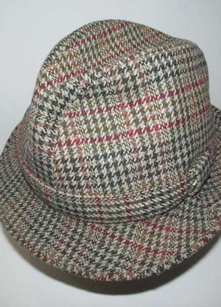 Шляпа damart утпдфтв, утепленная, шерсть, 56-57р, сост. отличное!