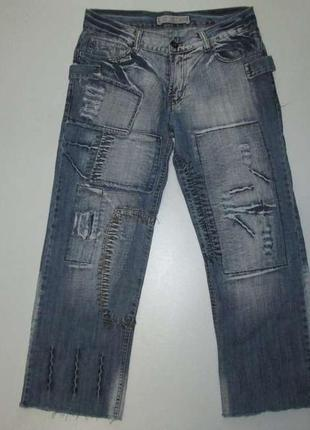 Джинсы k&m jeans vintage, в поясе 42,5-45 см, сост. отличное!