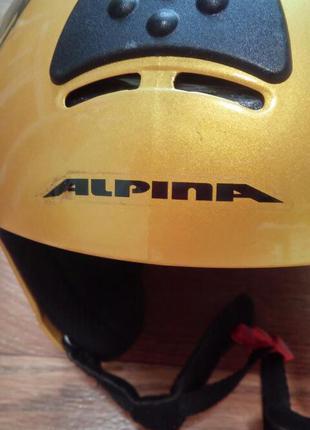 Шлем Alpina 50-53 с регулировкой размера.
