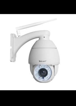 Наружная, поворотная IP камера Sricam sp008b